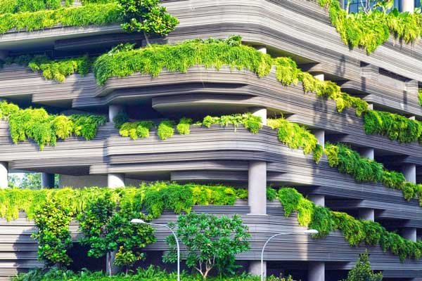 Buildings that feature greenery and natural light do more than just look  good. The green spaces prove beneficial to building occupants, ...
